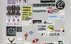 Verschiedenste Aufkleber, Sticker, Decals