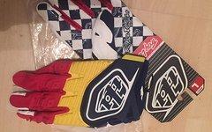 Troy Lee Designs GP Glove Navy/Red Gr. L NEU