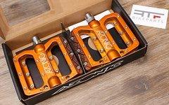 Azonic Pucker Up Pedals Orange *NEU*