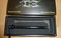 Kcnc Steckachse Shimano E-Thru | 12 x 142 mm - super leicht nur 44g - fast wie tune - incl. Versand