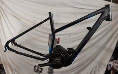 Haibike E Bike Rahmen mit defekten Bosch Motor