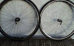 Novatec Cyclocross Laufräder, Tubular (Schlauchreifen)
