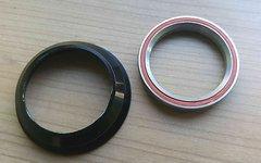 Ritchey Comp Cartridge Steuersatzlager mit Schale - Unterteil PressFit ZS55/40