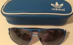 Adidas Brille Lifestyle blue retro