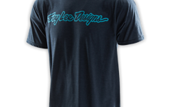 """Troy Lee Designs SOGNATURE TEE """"Gr. S"""" HEATHER NAVY"""