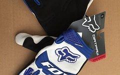 Fox  Racing Shox Dirtpaw Handschuhe blau Gr.L Race Glove Downhill Freeride Dirt Mtb