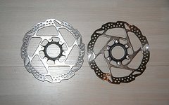 Shimano SM-RT54-S 2x Bremsscheibe Centerlock 160mm