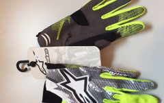 Alpinestars Aero Gloves Yellow Fluo Black XS