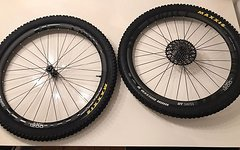 DT Swiss XMC 1200 SPLINE Carbon Laufräder von meinem YT-Industries Capra in Laufrad grösse 27,5