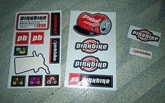 Pinkbike Sticker Pack