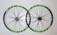 "NS Bikes Enigma Rotary DH Downhill Laufradsatz 26"" NEU 20x110mm 12x157mm"
