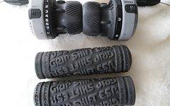 Sram Attack Drehgriffe Grip Shift 3 x 8 mit original Griffe NOS Retro Kult