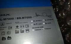 Shimano Bremse BR-M7000 mit J04C Metallbelag - hinten