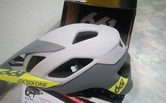 661 SixSixOne EVO AM Patrol Helm matte GREY M/L Mips *NEU*