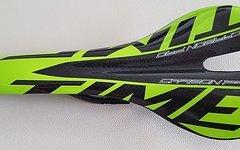 Carbon Sattel *glossy green* nur ca. 112g Vollcarbon lackiert