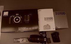 Nikon D 3100 Top Zustand mit Objektiv 18 - 105