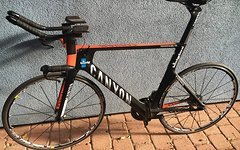 Canyon Speedmax CF Gr. L, DuraAce Di2, Power2Max Kurbel