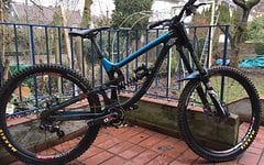 Saracen Myst Carbon Ca 15,6Kg (M) Downhill Full Carbon Bike - Teamedition