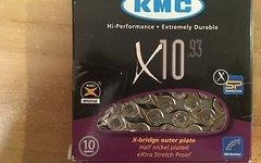 KMC X10-93 10-fach Kette 114 Glieder