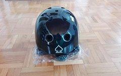 Pro-Tec Old school helmet gloss black s/m