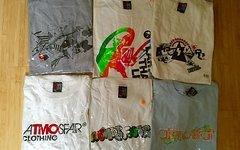 Atmosfair Clothing 6 x NEUE T-SHIRTS XL