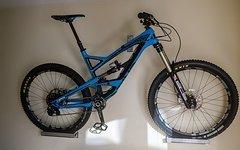 """YT Industries Capra CF Pro 2015 Blue (Carbon) """"L"""""""