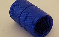 Aluminium AV Ventildeckel Set *blau* (AV / Autoventil)