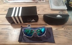 Adidas Evil Eye EVO S, Crystal Blue Mirror, NEU!
