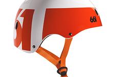 661 SixSixOne Dirt Lid Helm *unbenutzt* weiss orange BMX / Dirt / Street