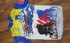 Maratona D Les Dolomites 1996 Größe L Rennrad Trikot Dolomiti