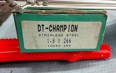DT Swiss Champion Speichen 1,8 mm silber, div. Längen - NEU
