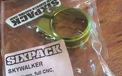 Sixpack Sattelklemme Skywalker (31.8mm) Grün