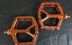 Race Face Atlas Plattform/Flatpedale in orange