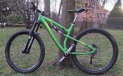 "Drössiger XRA 29 grün 19"" 150mm Custom Aufbau Enduro Fully"