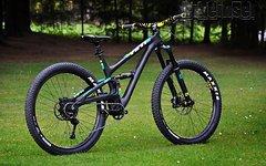 Yeti SB5 carbon Plus TURQ custom, Black in L, NEU !!