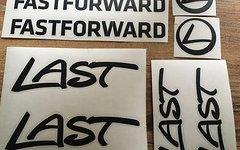 Last Fastforward Rahmen Aufkl. in schwarz