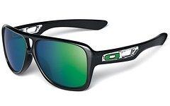 Oakley Sonnenbrille Dispatch II Polished Black Lens Jade Iridium NEU!