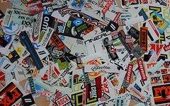 Rock Shox Sticker Stickers Aufkleber Konvolut Stickerbomb