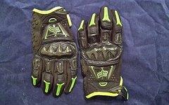 Fox Enduro/Freeride Handschuhe Carbon green Größe Small