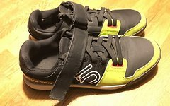 Five Ten Hellcat semi solar yellow Clipless SPD Schuhe 44,5