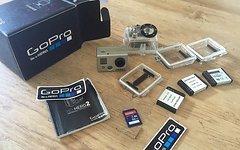 Gopro Hero 2 mit 4 Akkus 32 GB Karte