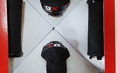 SRAM X.0 GripShift 2x10 schwarz/rot