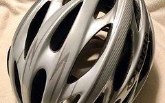 Giro Saros Helm Rennrad Mountainbike Silber 51-55cm