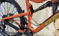 Santa Cruz Frameset 5050 Größe L, neu, mit Rockshox Pike