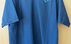 Fox Head Clothing Flow Jersey Blau Kurzarm in L