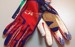 Jt Racing Flex Feel Performance Gloves Blue/ Red XXL