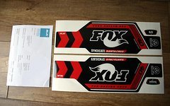 Fox 40 Decal Aufkleber Santa Cruz Syndicate Slik Graphics