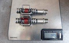 Crankbrothers eggbeater 3ti, neu aufgebaut, 186 gramm