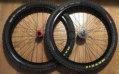 Handgespeichter DH Laufradsatz, Hope Pro 2 Evo Naben