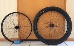 WTB Boost Laufradsatz Scraper I45 27,5''+